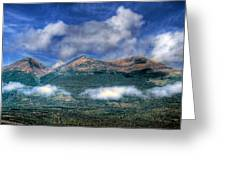 Mountain Tops Greeting Card