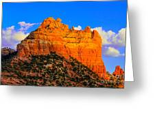 Mountain View Sedona Arizona Greeting Card