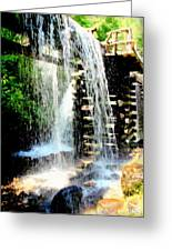 Mountain Waters Greeting Card