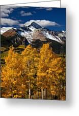 Mountainous Wonders Greeting Card