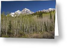 Mountains Co Maroon Bells 23 Greeting Card