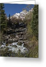 Mountains Co Maroon Creek 2 Greeting Card