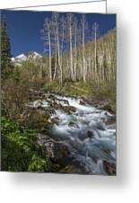 Mountains Co Maroon Creek 4 Greeting Card