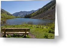 Mountains Co Maroon Lake 3 Greeting Card