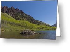 Mountains Co Maroon Lake 4 Greeting Card