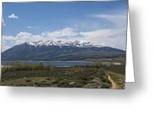 Mountains Co Mt Elbert 1 Greeting Card