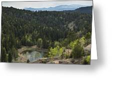 Mountains Co Mueller Sp 15 Greeting Card