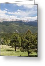 Mountains Co Mueller Sp 2 Greeting Card