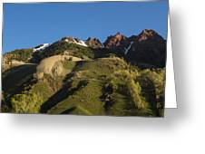 Mountains Co Sievers 1 Greeting Card