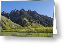 Mountains Co Sievers 2 A Greeting Card