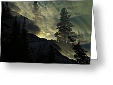 Mountains Dreams Greeting Card