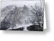 Mountains Of Austria Greeting Card