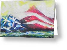 Mountains Of Freedom Two Greeting Card
