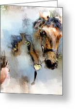 Mounted New York Sunday Greeting Card
