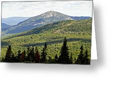 Mountian Draw Greeting Card