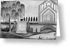 Mourning C1815 Greeting Card