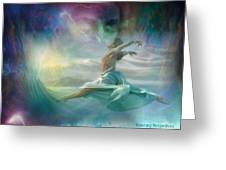 Mourning To Dancing Greeting Card