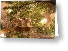 Mousie Love In A Tree Greeting Card