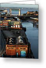 Mouth Of The River Hull Greeting Card by Anthony Bean