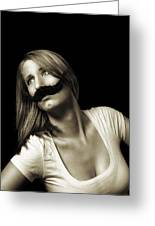 Movember Seventeenth Greeting Card