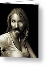 Movember Sixth Greeting Card by Ashley King