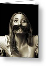 Movember Twelfth Greeting Card by Ashley King
