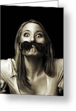 Movember Twelfth Greeting Card
