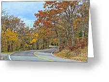 Movin On Down The Road Greeting Card