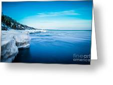 Moving Ice Greeting Card