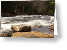 Moving Waters Greeting Card