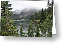 Mowich Lake Greeting Card