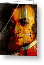 Mozart Greeting Card