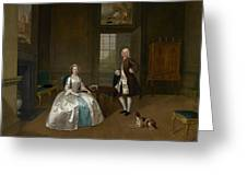 Mr And Mrs Atherton Greeting Card