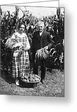 Mr. And Mrs. Luther Burbank Greeting Card