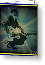 Mr. Chuck Berry Blueberry Hill Style Greeting Card