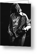 Mick In 1977 Greeting Card