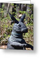 Mr Rabbit 2 Greeting Card