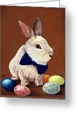 Mr. Rabbit Greeting Card