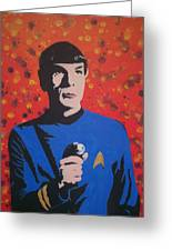 Mr Spock Greeting Card