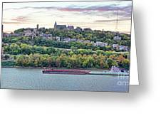 Mt Adams Cincinnati 9919 Greeting Card