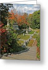 Mt Auburn Cemetery 14 Greeting Card