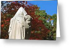 Mt Auburn Cemetery 8 Greeting Card
