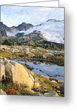 Mt Baker Washington State Greeting Card