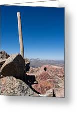 Mt. Bierstadt Summit Greeting Card