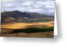 Mt. Brandon Panorama Greeting Card