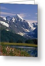 Mt Carpathian Greeting Card