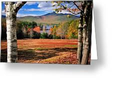 Mt Chocorua - A New Hampshire Scenic Greeting Card
