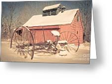 Mt. Cube Farm Old Sugar Shack Greeting Card