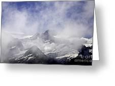 Mt. Earnslaw - New Zealand Greeting Card