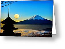 Mt Fuji Greeting Card